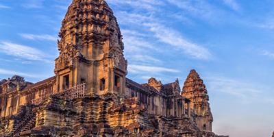 Du lịch Campuchia Sài Gòn - Ngôi đền Angkor Wat (T3/2015)