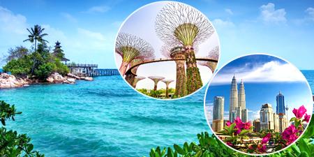Tour du lịch Sing - Mal - Indo 6 ngày khởi từ Tp.HCM giá tốt 2018
