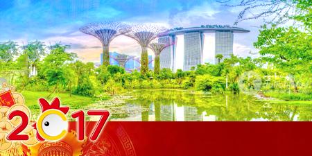 Du lịch Singapore 4 ngày tết nguyên đán 2017 giá tốt từ Tp.HCM