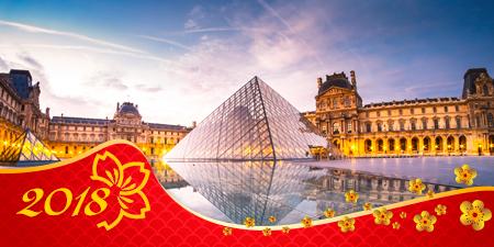 Du lịch Châu Âu Pháp - Tây Ban Nha dịp tết nguyên đán 2018 từ Sài Gòn