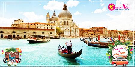 Du lịch Châu Âu Pháp -Thụy Sĩ - Ý - Vatican - Monaco hè từ Hà Nội 2017