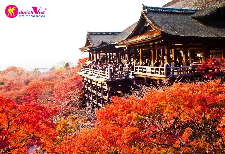 Không thể phủ nhận cố đô Kyoto là điểm đến hấp dẫn nhất Nhật Bản