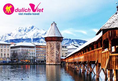 Tìm lời giải cho vẻ đẹp choáng ngợp của Thụy Sĩ tại vùng đất Lucerne