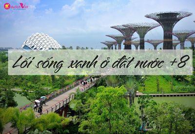 LỐI SỐNG XANH Ở ĐẢO QUỐC SƯ TỬ SINGAPORE