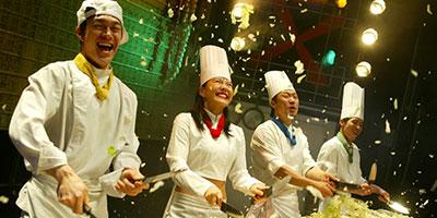 Vé tham quan xem Cookin Nanta Show Bangkok