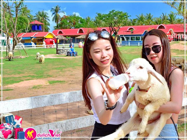 Vé tham quan nông trại cừu Pattaya