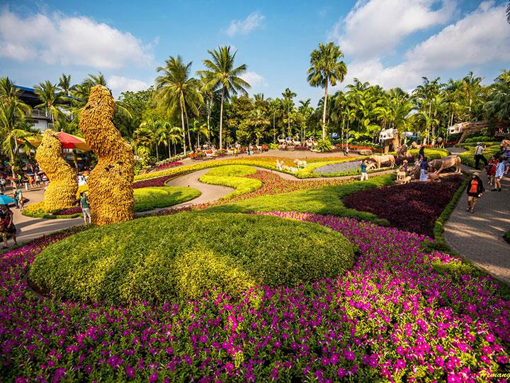 Vé tham quan làng văn hóa Nong Nooch Pattaya