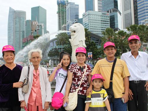 Cảm nhận khách hàng đi Du lịch Singapore ngày 01/11/2014
