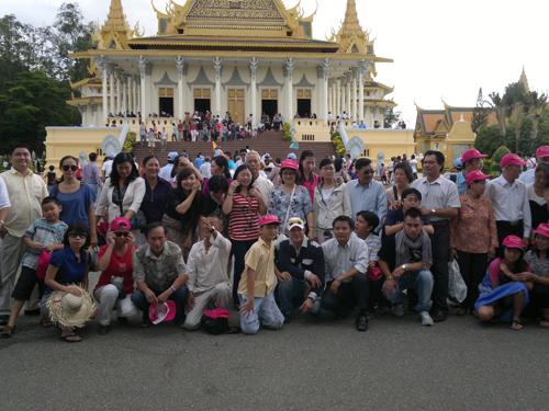 Phản hồi khách hàng đi Tour Campuchia ngày 10/07/2014