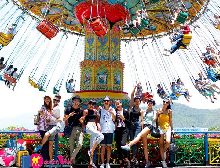 Du Lịch Nha Trang - Đà Lạt 5 ngày khởi hành từ Sài Gòn dịp hè 2017