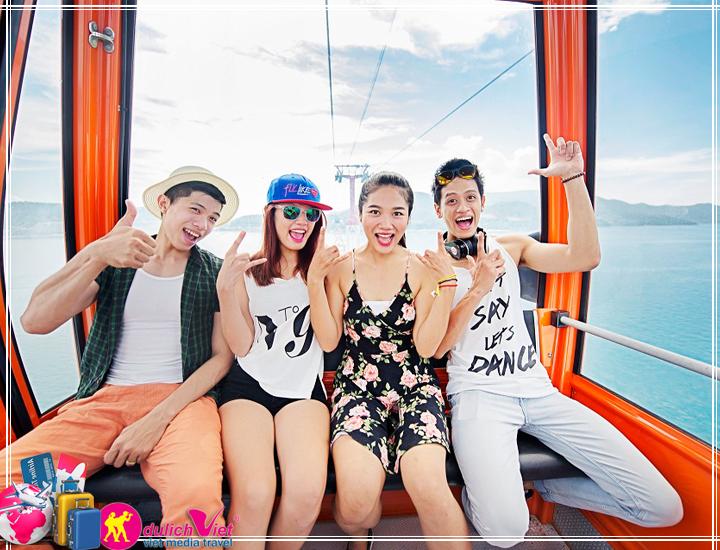 Tour Nha Trang - Đảo Điệp Sơn - Vinpearland 3 ngày 3 đêm (T12/2017)