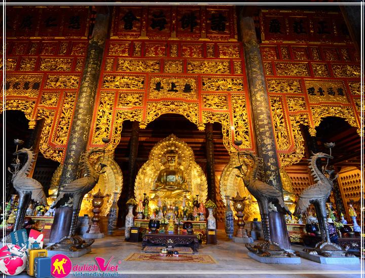 Du lịch tâm linh Bái Đính - Tràng An Tết âm lịch 2017 từ Hà Nội