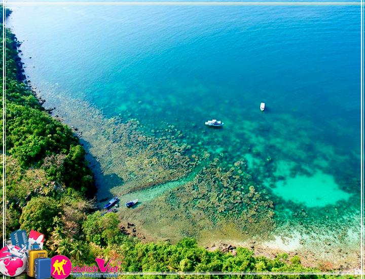 """Tour Free & Easy Phú Quốc """"tặng câu cá ngắm san hô"""" tết âm lịch 2017"""