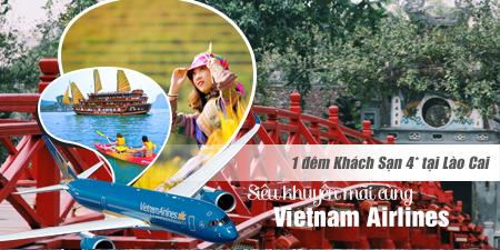 Du Lịch Miền Bắc 5 ngày bay từ Sài Gòn khuyến mãi VIETNAM AIRLINES