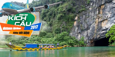 Du Lịch Miền Trung - Phong Nha 5 ngày Kích Cầu Vietnam Airlines 2017