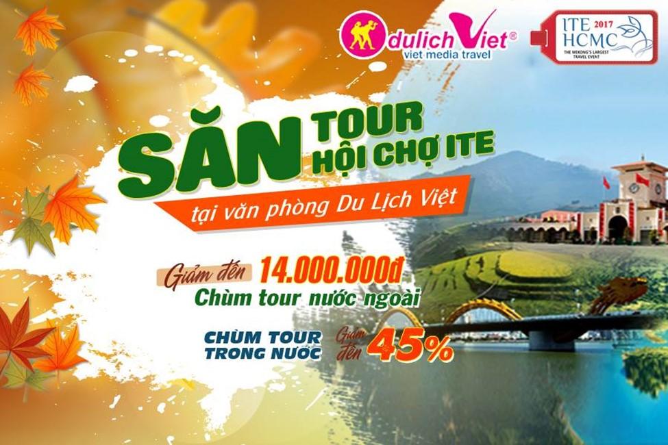 5 ngày mua tour giảm giá đến 45% tại Du Lịch Việt