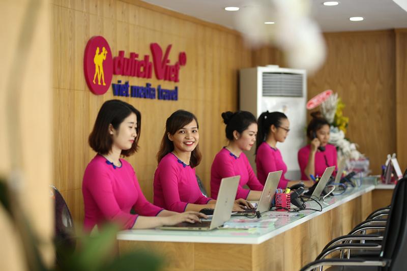 Du Lịch Việt tuyển nhân viên Marketing Online tại TP. Hồ Chí Minh
