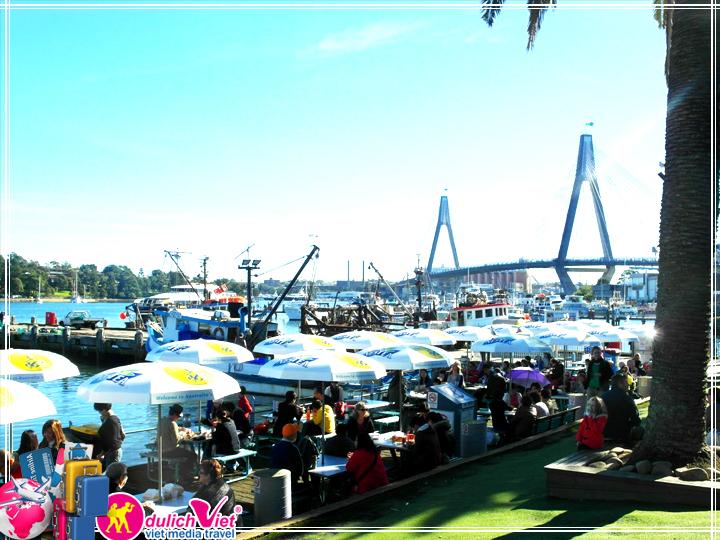 Du lịch Úc Sydney - Central Coast - Fish Market khởi hành từ Sài Gòn