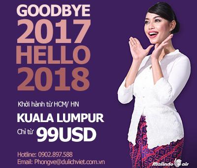 Malindo Air triển khai ưu đãi dịp Tết Mậu Tuất 2018