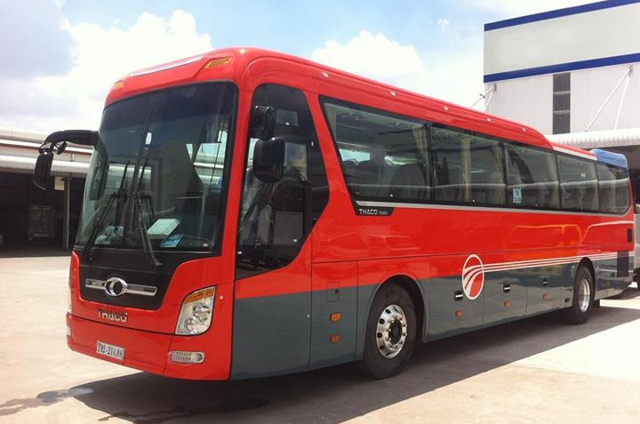 Cho thuê xe 35 chỗ từ Hà Nội đi Yên Tử