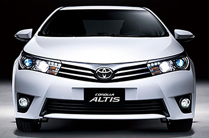 Cho thuê xe tự lái Toyota Altis 4 chỗ