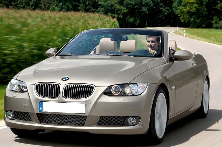 Cho thuê xe cưới mui trần BMW Series 3