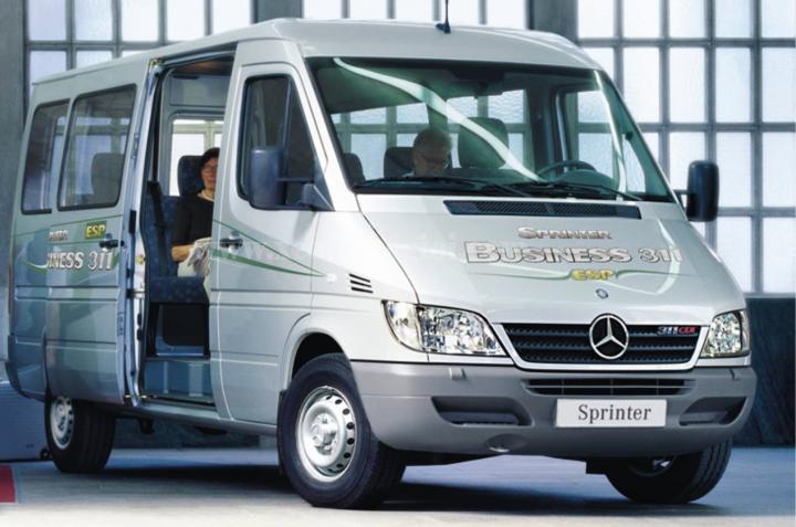 Cho thuê xe Mercedes Sprinter 16 chỗ giá tốt
