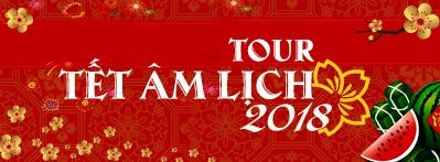 Tour trong nước Tết Âm Lịch 2018