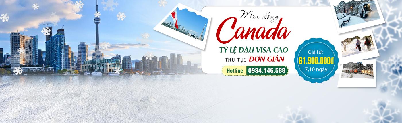 Du lịch Canada hè 2017