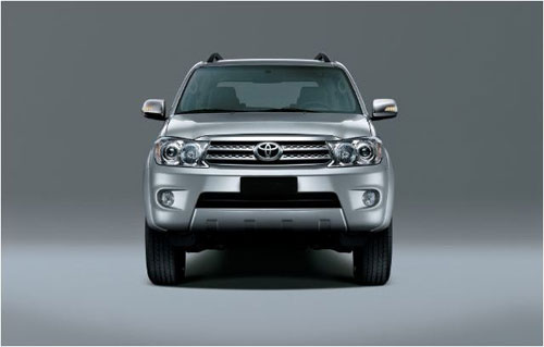 Dau xe - Toyota Fortuner