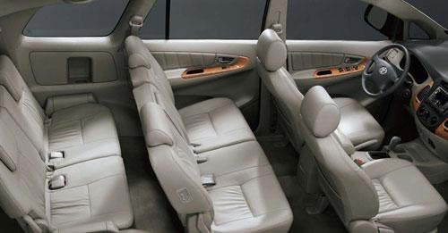 Noi that xe Toyota Innova 7 cho