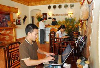Sanh khach san Thai Binh