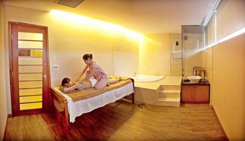 Dich vu Massage cua khach san Muong Thanh
