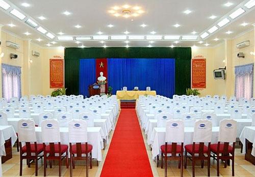 Hoi truong Dai Duong Xanh tai khach san Cong Doan Thanh Binh