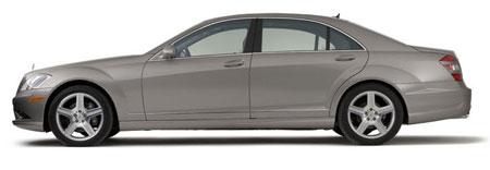 Nhin tu phia ngang xe - Xe Mercedes Benz S600 Guard