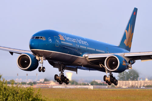 Ve may bay Vietnam Airlines di Quy Nhon