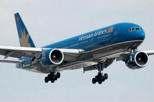 Ve may bay Vietnam Airlines di Ha Noi gia re