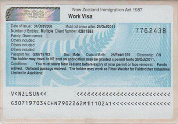 Lam Visa di du lich New Zealand
