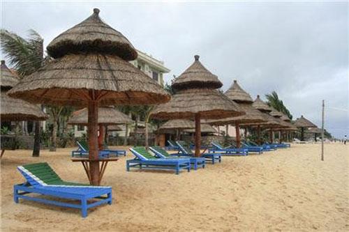 Bai tam cua Ngan Sao Resort