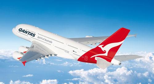 Ve may bay Qantas Airways di Sydney gia re