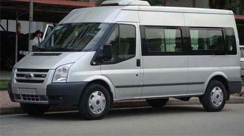 Dich vu cho thue xe Ford Transit 16 cho tai Ha Noi