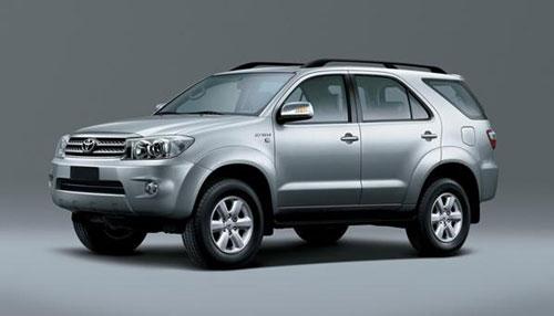 Xe Toyota Fortuner mau bac cho thue tai Ha Noi