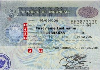 Visa di du lich tai Indonesia