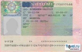 Visa di du lich Phan Lan (loai 6 thang nhieu lan)
