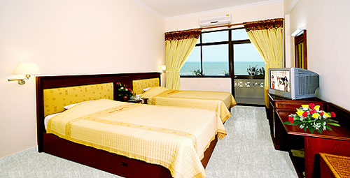 Phong Deluxe Sea View khach san My Le Vung Tau
