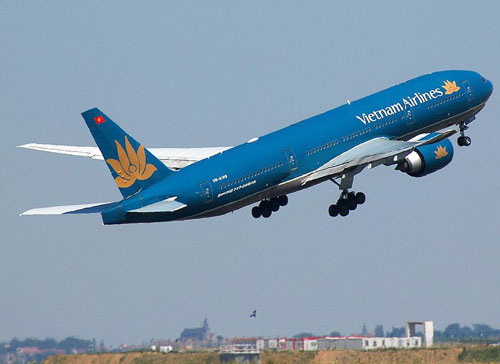 Ve may bay Vietnam Airlines Ha Noi di Can Tho