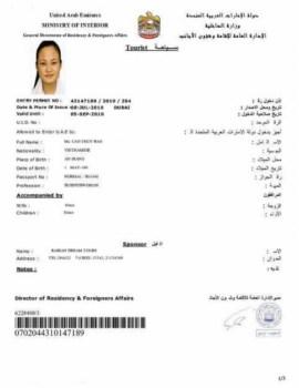 Visa di du lich tai Dubai