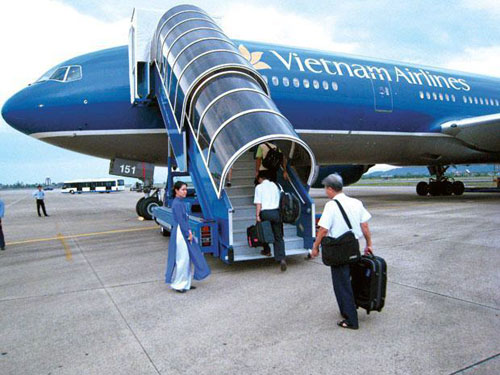 Ve may bay Vietnam Airlines TP. HCM di Dong Hoi