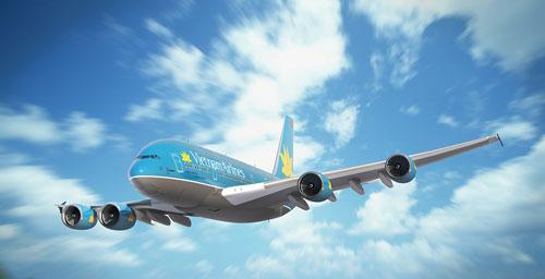 Vé máy bay Vietnam Airlines khởi hành từ TP. HCM đi Hải Phòng