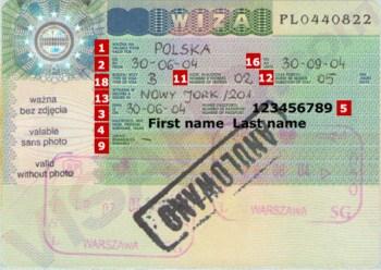Visa di cong tac Ba Lan